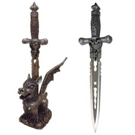 Snake Dagger with Simargl Stand