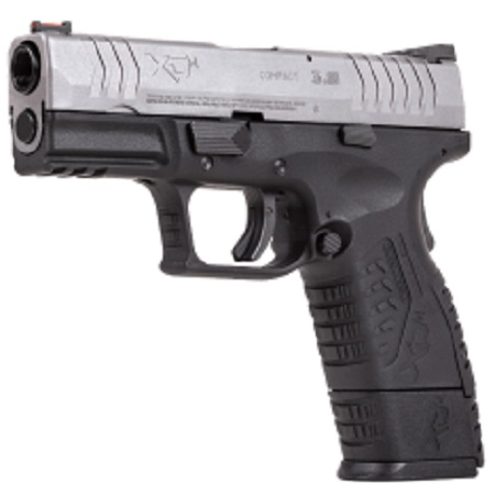 "Springfield Armoury XDM 3.8"" Two tone Black-Silver CO2 pistol 4.5mm BB"