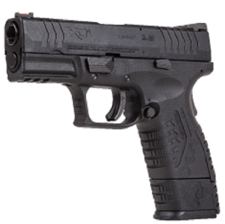 "Springfield Armoury XDM 3.8"" Black CO2 pistol 4.5mm BB"