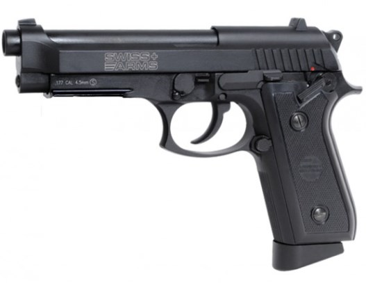 Swiss Arms P92 ( Cybergun GSG-92  ) 4.5mm steel BB Full Metal 12g co2 Air Pistol (21 shot BB )