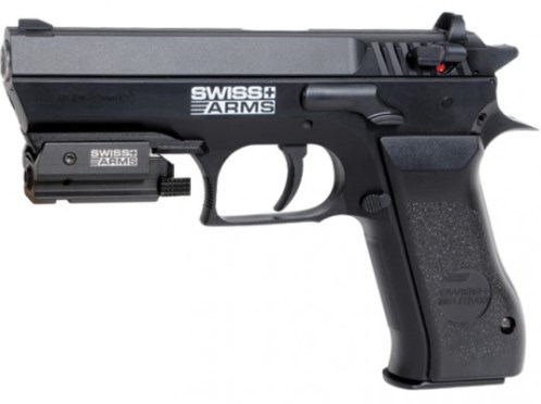 Swiss Arms SA 941, ( Cybergun Jericho 941 ) Metal 12g co2 Air Pistol 4.5mm (22 shot BB )