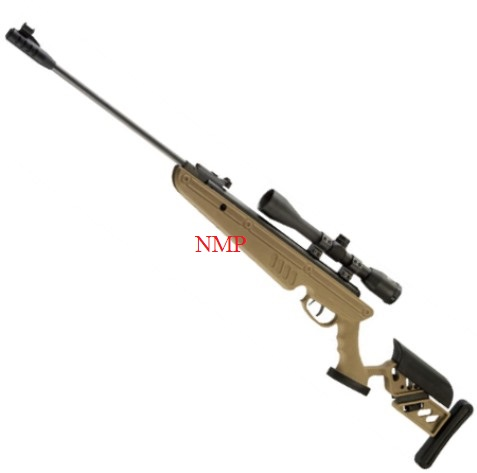 SWISS ARMS TG1 TACTICAL STOCK breack action AIR RIFLE TAN (5.5MM) .22