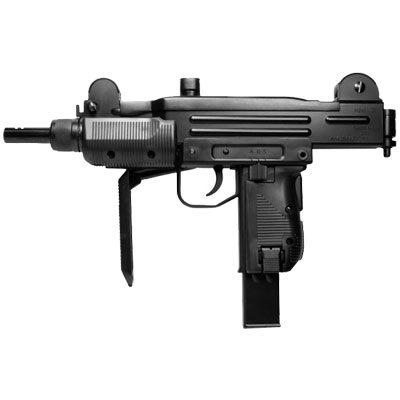 KWC RAPIDE MINI UZI Submachine Gun blowback Full Metal 12g CO2 powered 6mm BB ( 38 shot BB ) 6mm AIRSOFT Pistol