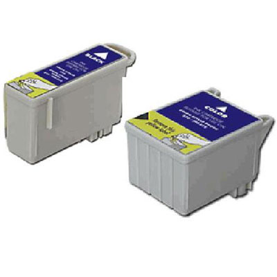 Epson T026 - T027 1 Pair of Compatible Printer Ink Cartridge (Black & Colour)