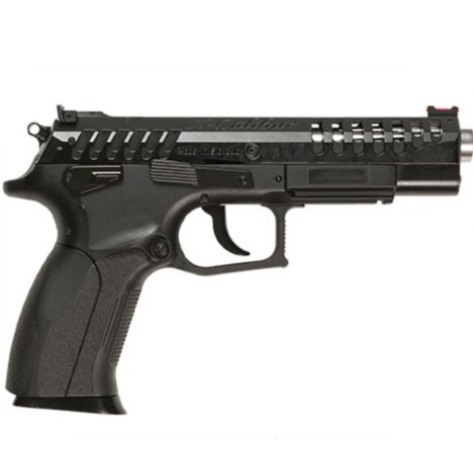 6MM AIRSOFT Pistol TOLMAR X-CALIBUR AIR SOFT 6MM BB 12g CO2 powered blowback PISTOL BLACK