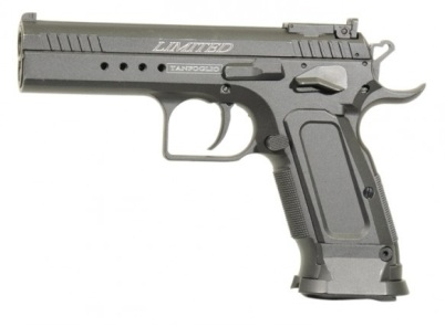 Cybergun Tanfoglio Limited Custom 1911 ( ERIC GRAUFFEL ) 12g co2 Air Pistol steel BB 4.5mm -.177 calibre ( 20 shot BB )