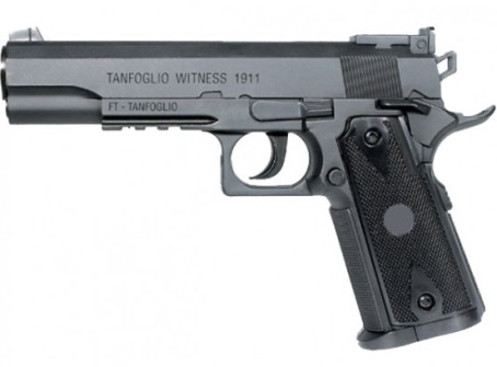 Cybergun Tanfoglio Witness 1911 high resin plastic 12g co2 Air Pistol 4.5mm BB ( 20 shot BB ) non blow back