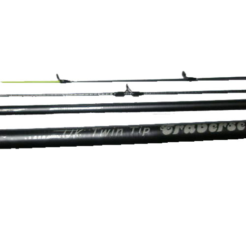 11ft  3pc Eurostar traverse UK Twin Tip rod. 11' (Fibre Glass) (extra £10.00 of price when collected from store)