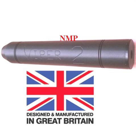 1/2 inch UNF Thread ( VIPER 2 Black ) sound moderator Tapered (unproofed) ( Made in UK )