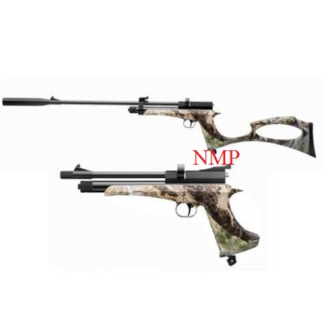 SMK Victory CP2 Air Pistol or Air Rifle 12g co2 Powered multi shot .22 calibre pellet in Camo set