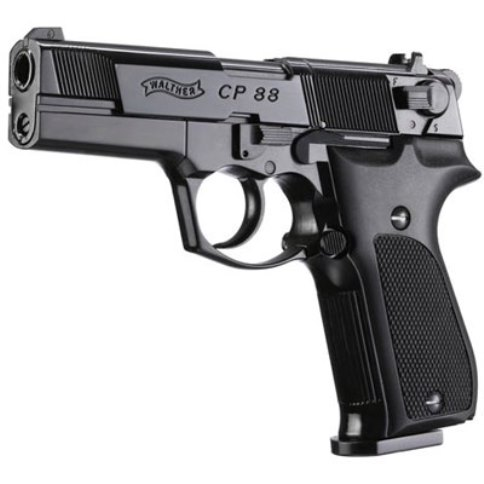 Walther CP88 Black 4 inch 12g Co2 Air Pistol .177 calibre pellet 8 shot Umarex