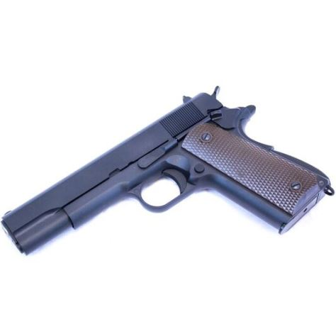 WE 1911 A Black Pistol Gas powered (1066)