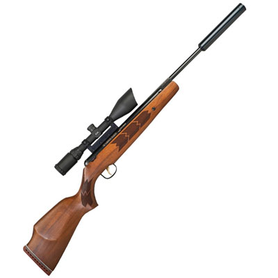 Webley Stingray II XS .22 calibre air gun pellet Break Barrel Springer Air Rifle With Silencer