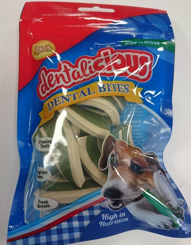Delicious Dental Bites Mint Flavour WP216 - 80g