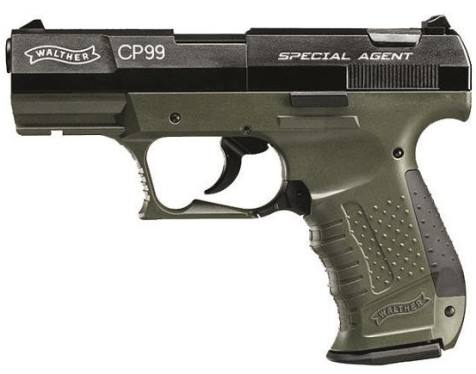 Walther CP99 - Special Agent .177 calibre Co2 Pistol ( 8 shot PELLET ) Umarex