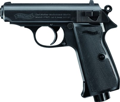 Walther PPK/S Blowback BLACK .177 12g co2 Air Pistol ( 15 shot BB ) Umarex