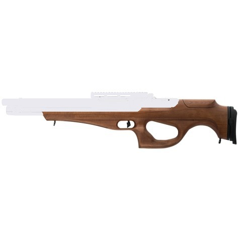 Webley Mastiff PCP Powered Semi Bull pup Replacement Walnut Stock