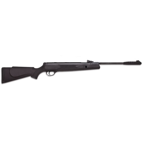 Webley VMX Spring Powered Air Rifle, Black Ambidextrous Polymer Stock 11.5 ft /lbs .177 Calibre