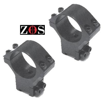 30mm Ring double clamp (pair) 48.6mm High mounts (103) ZOS Telescopic Sight MOUNTS