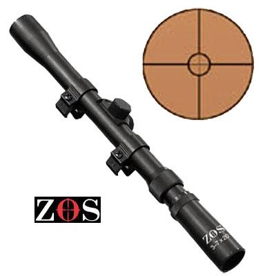 3 7 x 20 Scopes including std mounts ZOS Telescopic Sights