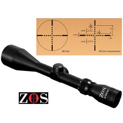3 9 x 50 MIL DOT Scopes no mounts ZOS Telescopic Sights