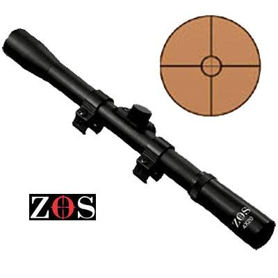 4 x 20 Scopes including std mounts ZOS Telescopic Sights