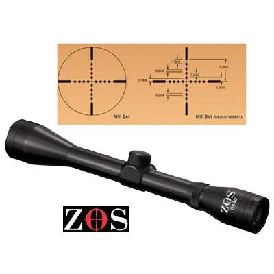 6 x 40 MIL DOT Scopes no mounts ZOS Telescopic Sights