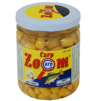 Carp Zoom 220ml Sweet Anglers Maize In Jar (CZ3820)