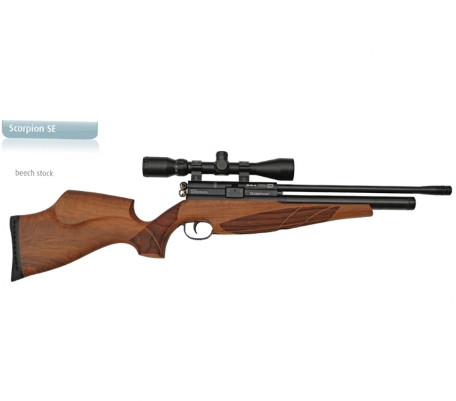 BSA Scorpion SE Multi Shot ( Beach Stock ) Pre charged PCP Full Power Air Rifle .22 calibre air gun pellet