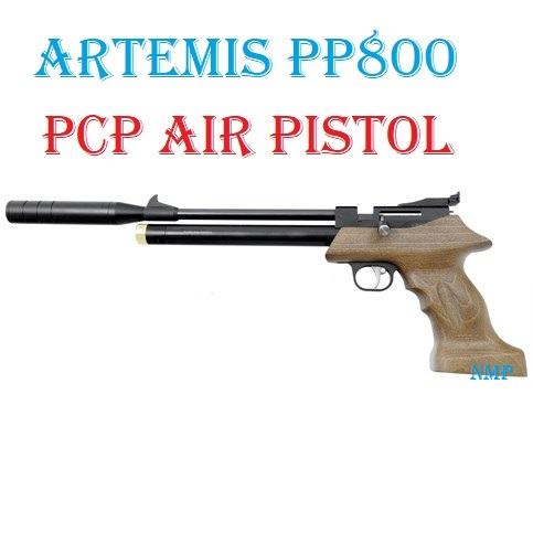 SMK ARTEMIS PP800 Multi-Shot PCP Pre charged Air Pistol .22 (5.5mm) calibre air gun pellet