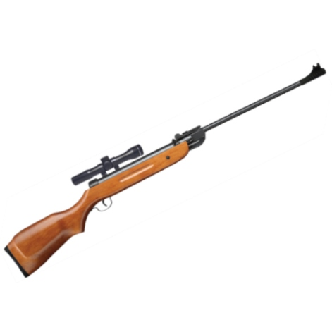 SMK CLASSIC B2 DELUXE WOOD STOCK BREAK ACTION Air Rifle Available in .177 calibre air gun pellet
