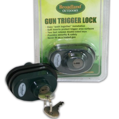 Broadland Outdoors Trigger Lock - Ideal for Pistols, Rifles, Shotguns ect...
