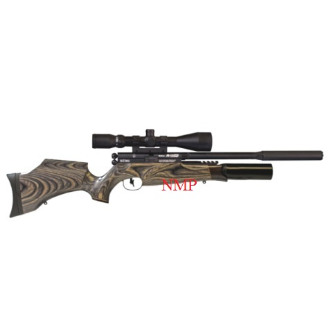 BSA R10 SE Super Carbine PCP Pre charged Air Rifle .177 calibre air gun pellet Black Pepper Laminate Wood Stock