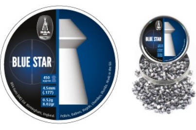 BSA Blue Star Hollow point hunter Pellets - available in .22 Tin of 250 x 10 tins