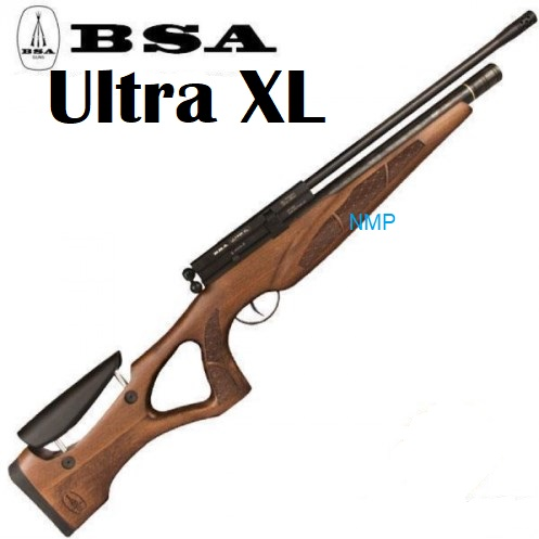 BSA Ultra XL Multi Shot Ambidextrous Thumbhole Beach Stock Pre charged PCP Air Rifle .22 calibre