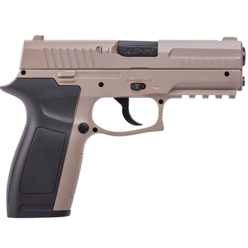 Crosman MK45 CO2 4.5mm steel BB Pistol 20 shot