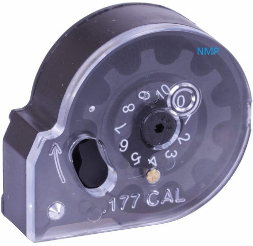 Nova Vista Alpha PCP Air Rifle Spare 10 shot auto-indexing magazine for the .177 caliber