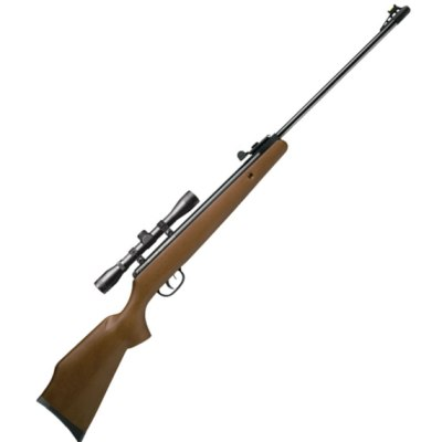 Crosman Optimus Break Barrel Spring Rifle with 4 x 32 Scope (.22 calibre air gun pellet) ( CO6M22X )