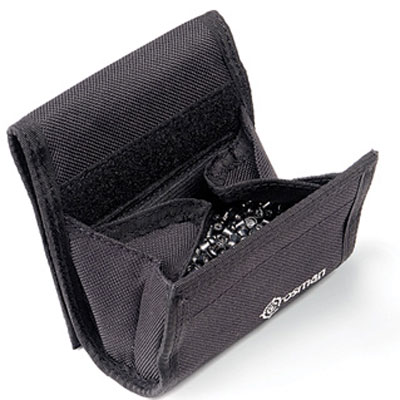 Airgun Crosman Ammo Pellet Pouch holds up to 500 pellets or BBs