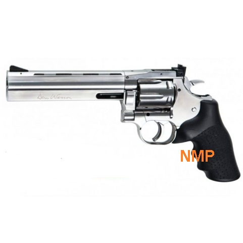 "ASG .177 (4.5mm) BB 12g Co2 Revolver 6"" Barrel Air Pistol - Silver Dan Wesson 715 (6 shot BB)"