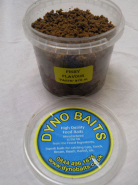375ml Tub of (Fishy) Flavour Ready Made Paste (DYNO BAITS )