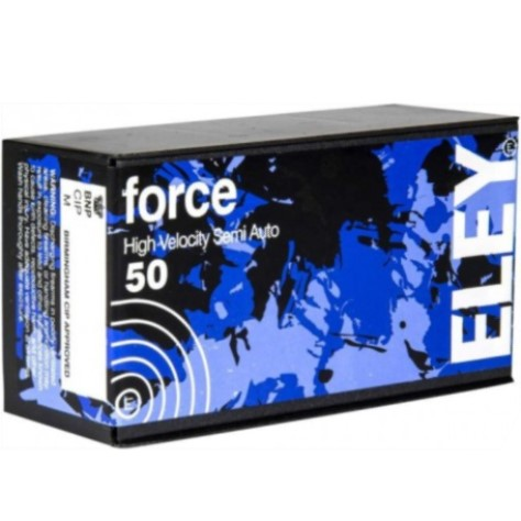 ELEY force Ammunition .22LR Rimfire Subsonic Semi-automatic 42 Grain Lead Round Nose Per box of 50