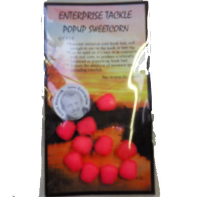 Enterprise Tackle (ARTIFICIAL / IMITATION BAITS:)  Sweetcorn PINK FLUO Pop Up