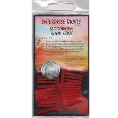 Enterprise Tackle Bloodworm Hook Skins