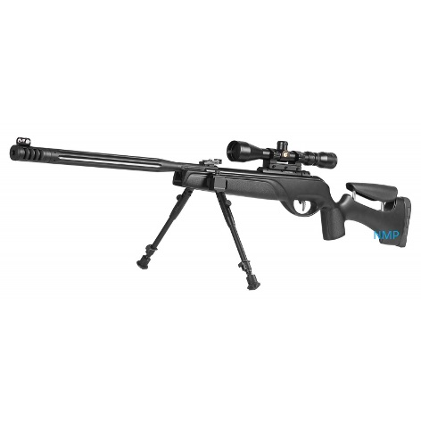 Gamo HPA Mi Package spring rifle polymer Stock Break Barrel Air Rifle with 3 9 x 40 scope, Bi-pod .22 calibre air gun pellet