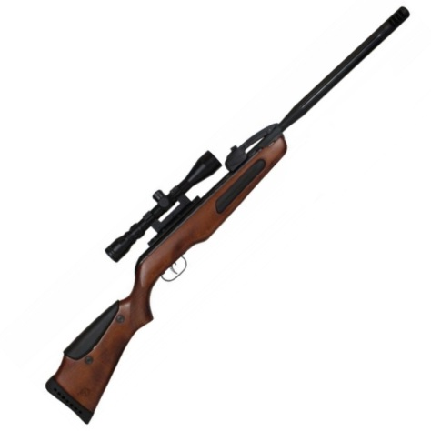 Gamo Maxxim Elite 10 shot spring rifle Wood Stock Break Barrel Air Rifle with 3-9 x 40 scope 22 calibre