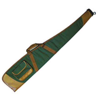 SMK green and brown Rifle, Scope Combo Air Rifle Gun Slip (case)