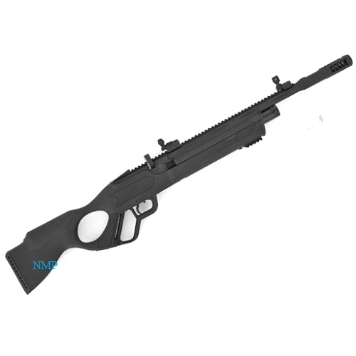 Hatsan Vectis lever action Black Multi Shot PCP Pre Charged Air Rifle 14 shot magazine in .177 (4.5mm) calibre