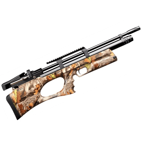 KRAL BREAKER BULLPUP PCP PRE-CHARGED AIR RIFLE .22 calibre 12 shot Camo Synthetic