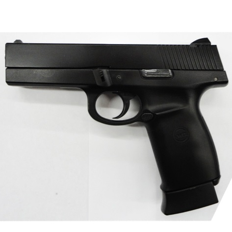 6MM AIRSOFT Pistol KWC 6mm BB Air Soft Pistol - Model Sigma SW40F (Smith & Wesson Sigma 40F ) Metal slide BLOW BACK ( CO2 powered ) ( 22 shot 6mm BB ) (KCB-12AHN)